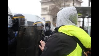 [ Giles jaunes acte 9 ] Incidents à Paris malgré le service d'ordre