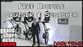 GTA 5 Online - PC - Free Bikes - Cruiser & Scorcher Bicycle Location - Storable Vehicle