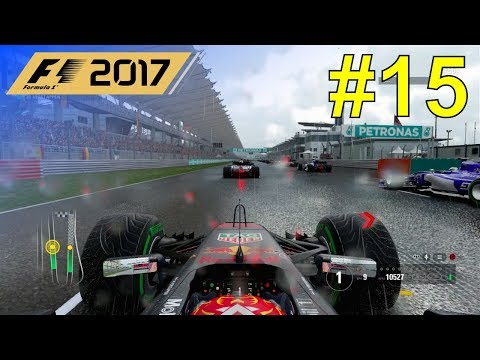 F1 2017 - Let's Make Verstappen World Champion #15 - 100% Race Malaysia