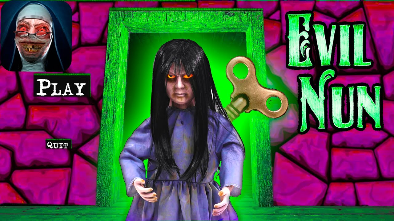 ✞ Granny is Evil Nun! Explosion in the Heights! Funny moments at granny's house!