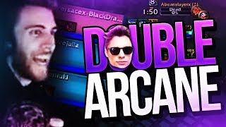 DOUBLE ARCANE MAGE WITH XARYU!!!! Venruki Legion Arena Gameplay