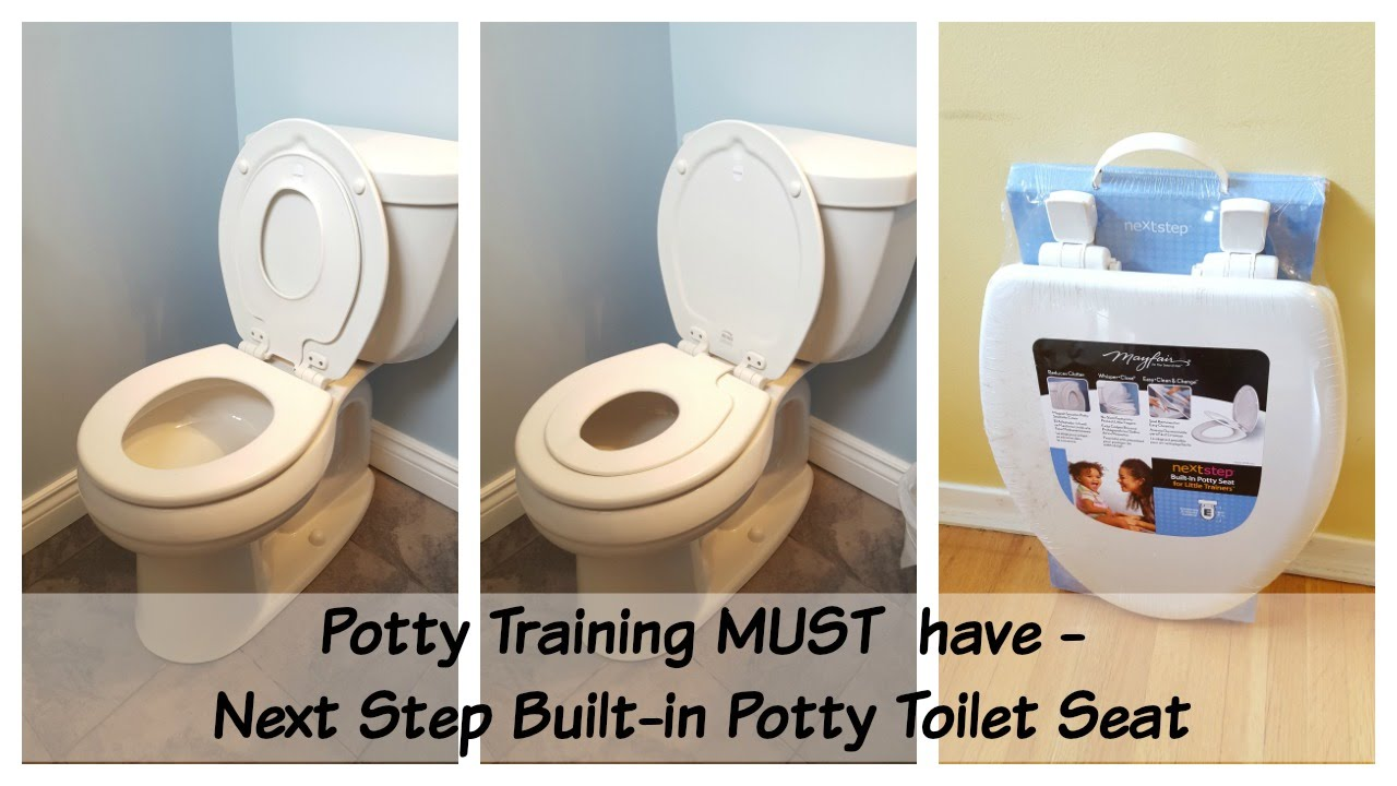 potty seat for elongated toilet. Potty Training MUST Have  Next Step Family Toilet Seat Review YouTube