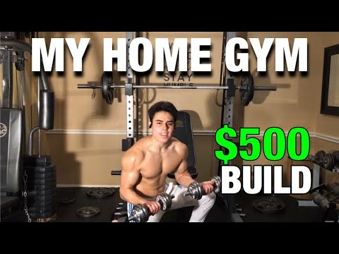 How I built the PERFECT home gym for CHEAP