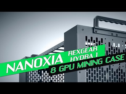 New Mining Case From Nanoxia! - Rexgear Hydra 1 Review - YouTube
