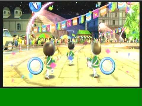 Wii Workouts Wii Fit Plus Rhythm Parade Youtube