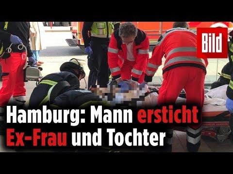 Bluttat in Hamburg: Mann tötet Ex-Frau und Kind