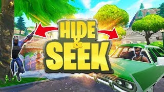 VERSTOPPERTJE DOEN IN PLEASANT PARK!! - Fortnite Hide & Seek (Nederlands)