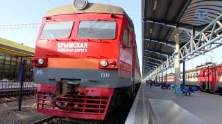 В Крыму электропоезда стали одним из популярных видов транспорта.