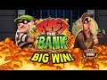 BIG WIN on Bust the Bank Slot - £1.80 Bet