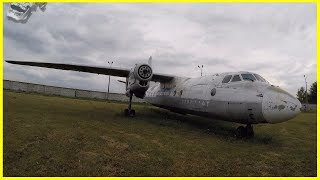 Exploring Abandoned Plane in Museum of Aviation 2018. Ghost Haunted Soviet Plane