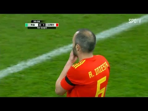 Andres Iniesta Man Of The Match Vs Germany HD 🇪🇸