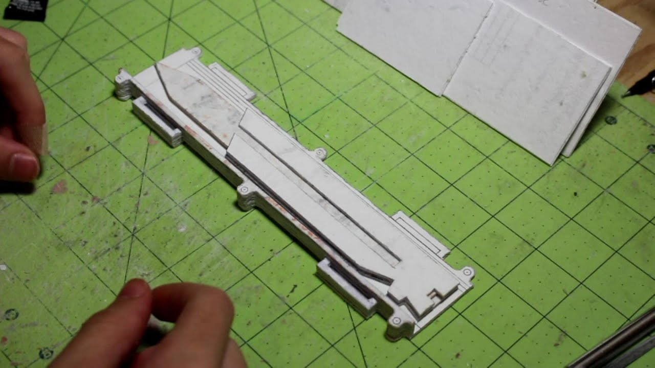 Papercraft (Assassin's Creed) Paper Dual Extended Hidden Blade Update 3