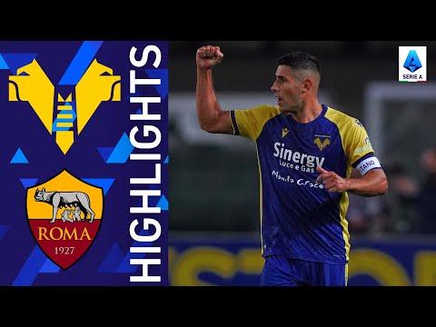 Helas Verona AS Roma Goals And Highlights