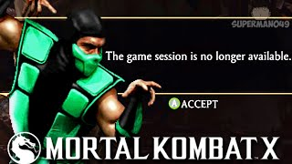 "Download Lagu Making Him RAGEQUIT With Invisible MIXUPS! - Mortal Kombat X: ""Reptile"" Gameplay mp3"