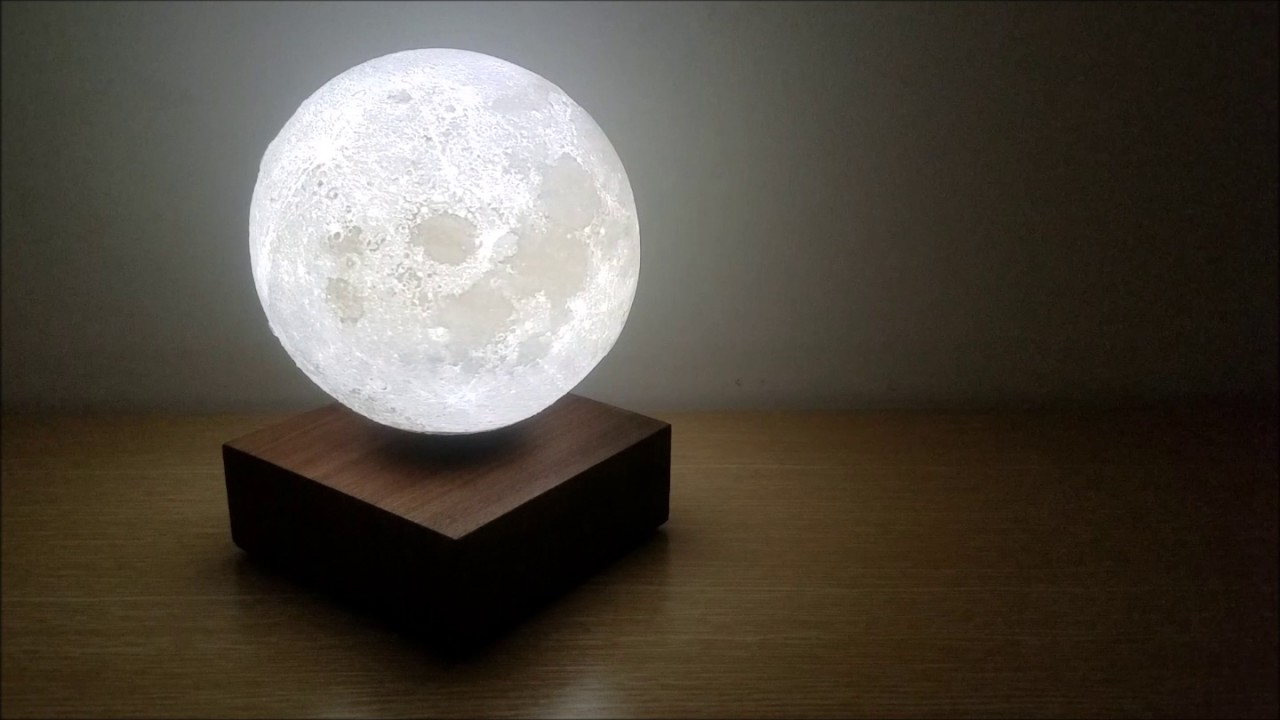 15cm Levitating Moon Light By Coocepts Youtube