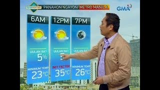 UB: Weather update as of 6:00 a.m. (February 11, 2019)