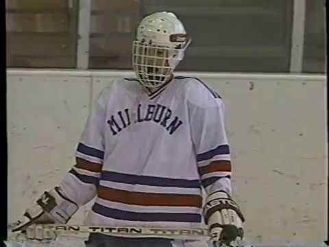 NJ HS Hockey 1993 Millburn vs. Verona from SMA on Suburban Cable TV3