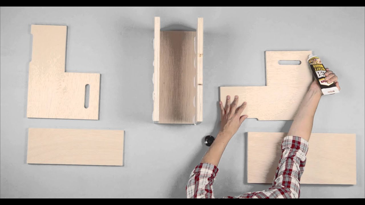 holzleiter bauen youtube. Black Bedroom Furniture Sets. Home Design Ideas