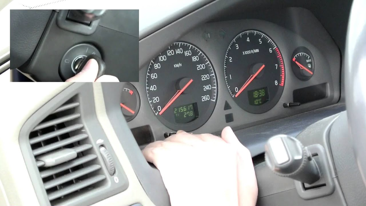 How To Reset The Service Light In Volvo S60 First