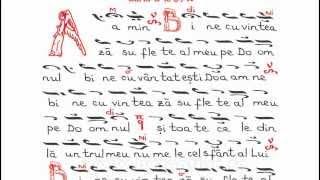 Psalmul 102 - Adrian Sirbu (Byzantion) si maicile de la Man. Paltin