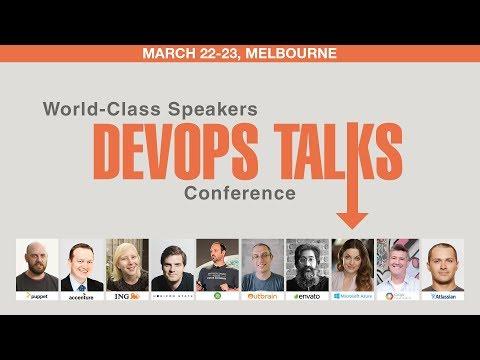 DevOps Talks Conference, Melbourne, 22-23 March, 2018