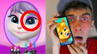 TALKING GINGER VERTELT OVER TALKING ANGELA! (eng)