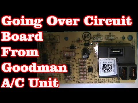 troubleshooting a blower control circuit board from goodman air handler