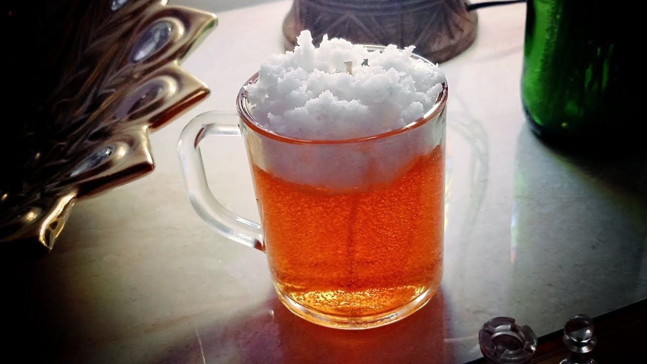 SUMMER SPECIAL GEL CANDLE | DIY GEL CANDLE | BEER CANDLE
