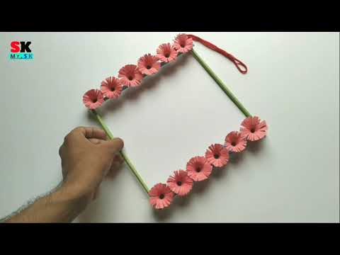 DIY Pepar Wall Hanging Ideas   Home Decoration Crafts use color paper