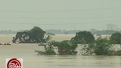 24 Oras: Pampanga River, umapaw dahil sa pagdaloy ng tubig mula sa Nueva Ecija
