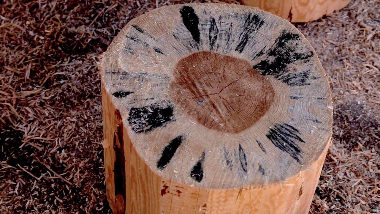 Сагус - хлорный отбеливатель для древесины - YouTube
