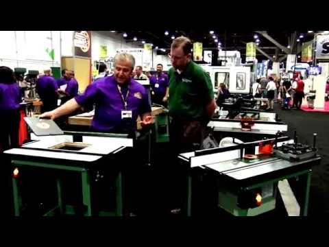General International Excalibur Router Table – AWFS 2015