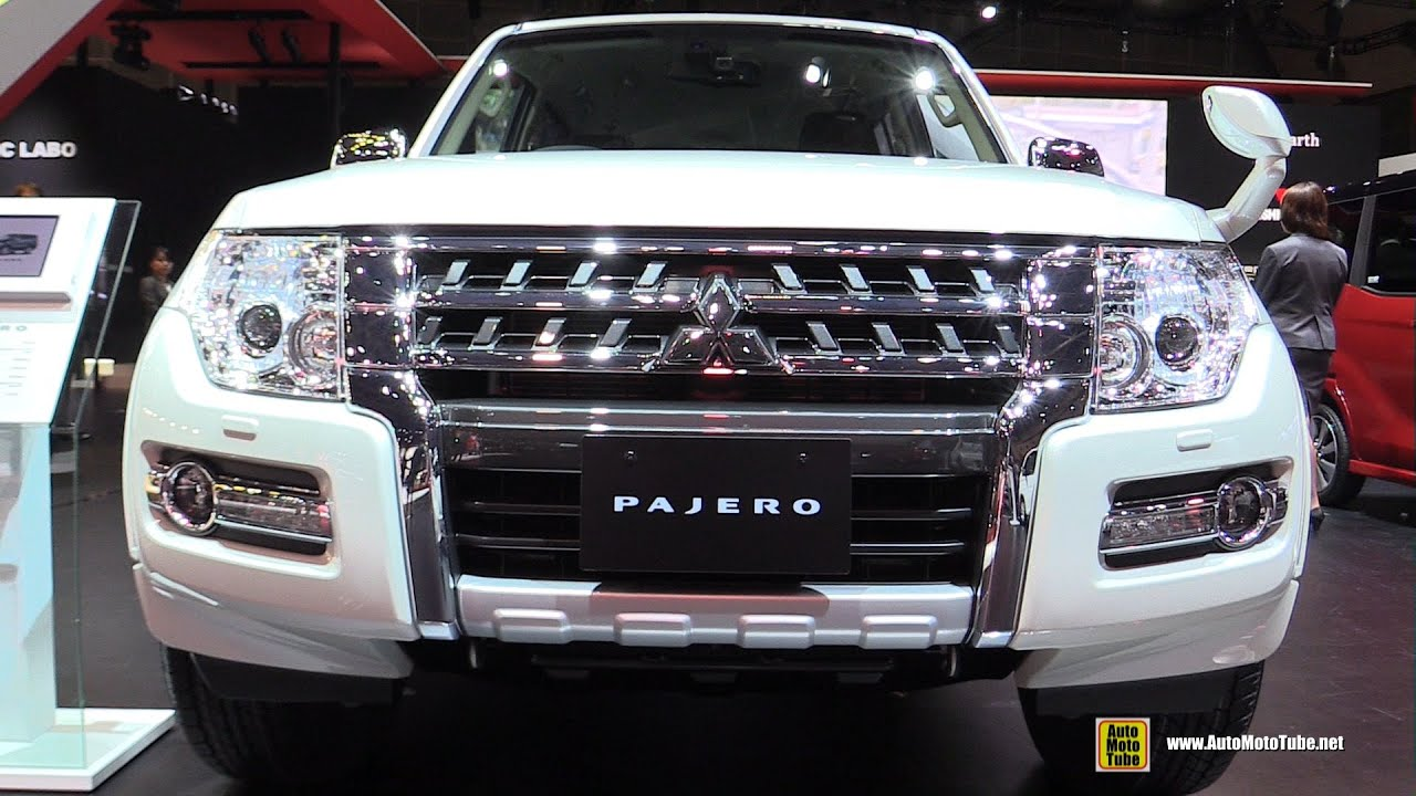 2016 Mitsubishi Pajero Super Exceed - Exterior and ...