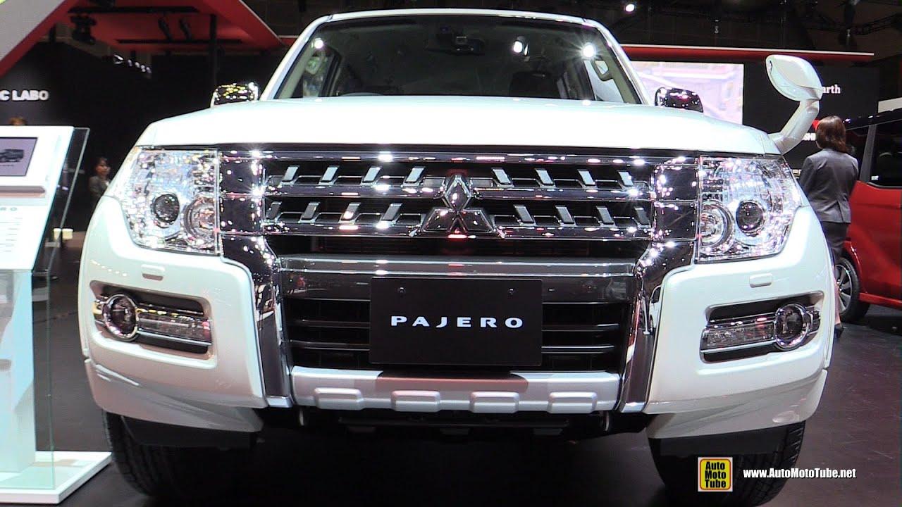 2016 mitsubishi pajero super exceed exterior and interior walkaround 2015 tokyo motor show youtube