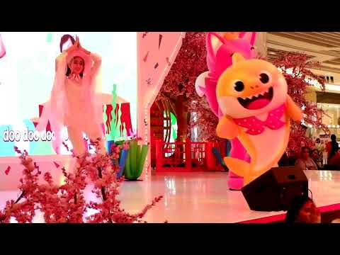 Baby Shark dan Barongsai di Bay Walk Mall Pluit Imlek 2018