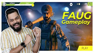 FAUG Hands On Gameplay ⚡ FAU-G All Modes, Exclusive Merchandise, Weapons & More