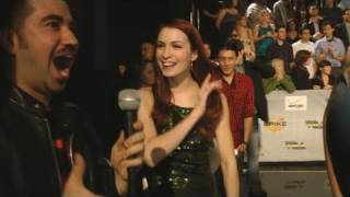 Angry Joe Interviews Felicia Day - VGA's 2010