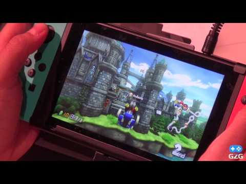 Mario Kart 8 Deluxe - Handheldmode [Gameplay - Nintendo Switch]