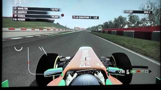 F1 2011 Qualifying Playstation 3/ PS3 Gameplay Catalunya