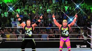 WWE 2K15 New Age Outlaws (Entrance and Finisher)
