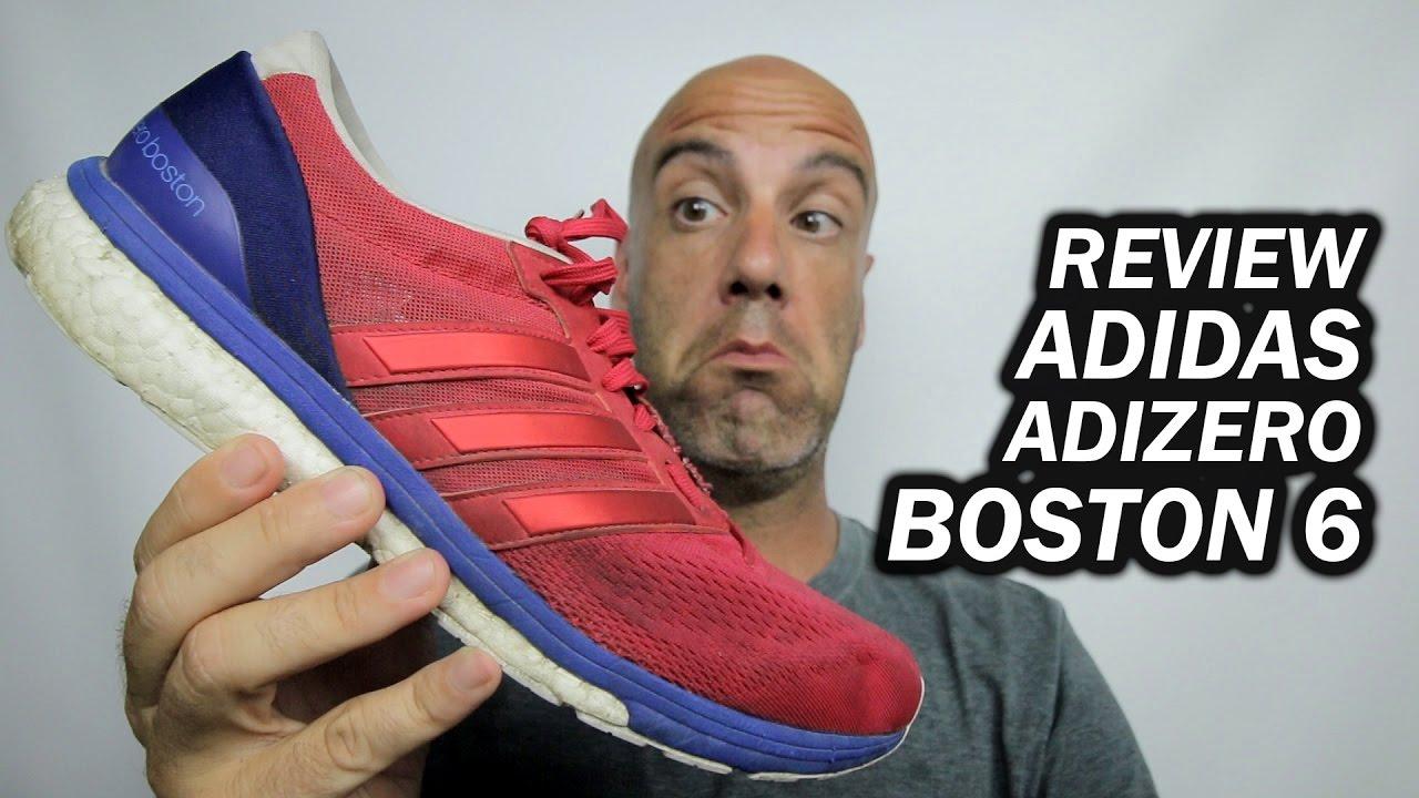 739989f16a3d ADIDAS ADIZERO BOSTON 6 - REVIEW  pt-br  - YouTube