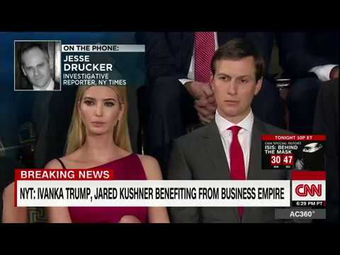 Jared Kushner and Ivanka Trump Benefiting from Business Empire #trump #JaredKushner #IvankaTrump