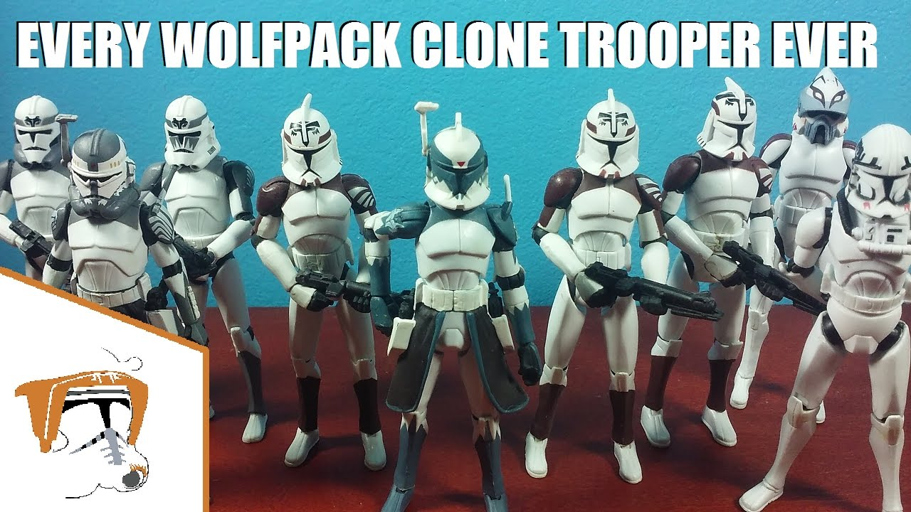 every hasbro 3 75 wolfpack clone trooper figure 104th battalion