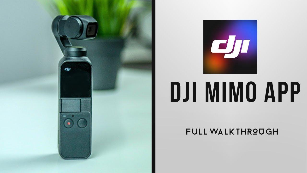 DJI Mimo App Full WALKTHROUGH & Settings for DJI Osmo Pocket
