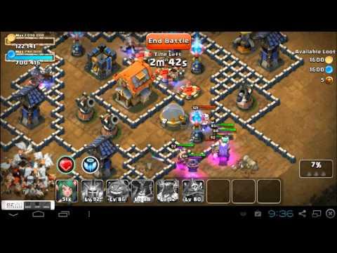 Castle Clash D4S2 Raiding, Best Path To Take...