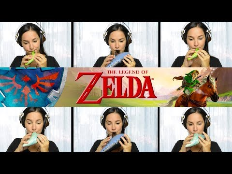 Legend of Zelda: Sarias Song Lost Woods on Ocarina