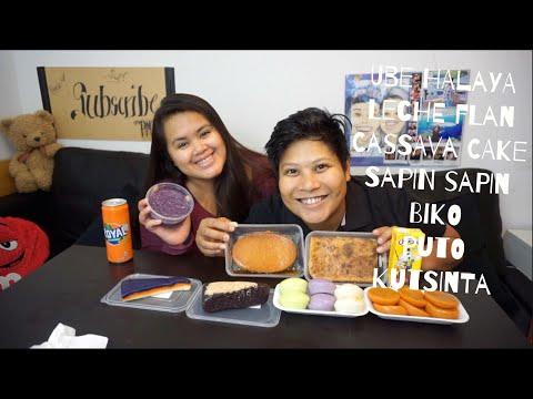 Filipino Dessert (Kakanin)  Mukbang (Eating Show)