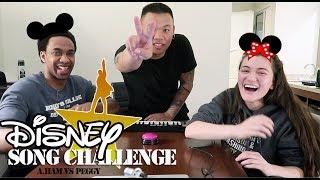 Disney Song Challenge - Hamilton vs Peggy | AJ Rafael