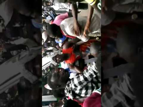 Fight Breaks Out Among Ali Ndume Protesters