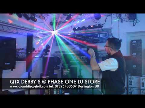 QTX DERBY S @PHASE ONE DJ STORE